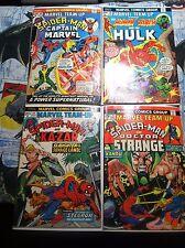 Marvel Team-Up #16 #18 #19 #21 HULK CAPTAIN MARVEL KA-ZAR Awesome Lot L@@K