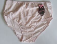 Ladies/Girls Size 18 Midi Briefs Knickers Panties Stretchy Cotton Pink
