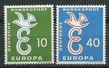 ALEMANIA  EUROPA cept 1958 Sin Fijasellos MNH