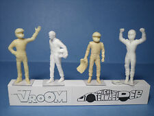4  FIGURINES  1/43  SET 248  RAIKKONEN  F1  DRIVERS  PILOTES   VROOM  UNPAINTED