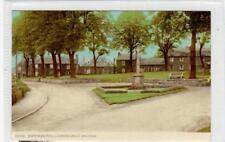 WAR MEMORIAL LOOKING WEST, ANCRUM: Roxburghshire postcard (C30274)