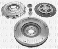 HKF1057 BORG & BECK SOLID FLYWHEEL KIT fits PSA C4, C5, 407 2.0HDi 140