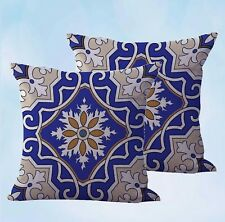 US Seller- set of 2 modern pillow covers Italian sytle geometric cushion cover