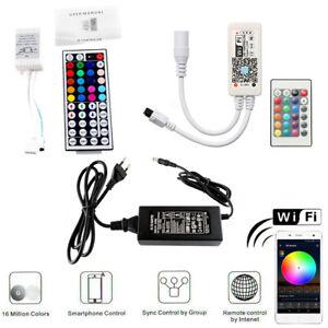 Magic Home WiFi Alexa Google Home RGB RGBW LED Strip Music Remote Controller