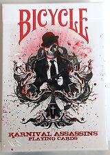 Karnival Assasins Red Deck Bicycle Playing Cards Big Blind Media Sam Hayles
