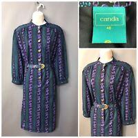 Canda C&A Vintage Retro Dress UK 18 EUR 46