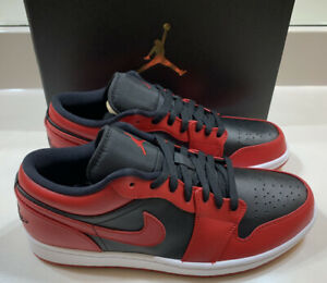Nike Air Jordan 1 Low Gym Red Men's Size 10.5 New With Box