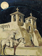 The Heavens Above Taos By Michael Swearngin Western New Mexico 16x20 Paper Print