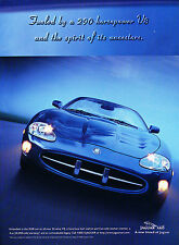 1997 Jaguar Xk8 Original Advertisement Car Print Ad J368