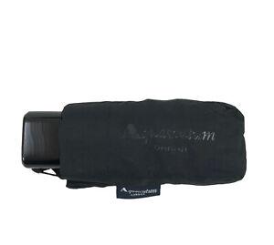 AQUASCUTUM - Ombrello telescopico da borsetta c/custodia NERO