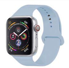 Correa de silicona para Apple iwatch series 1 2 3 4 5 6 SE para 38-40/40-42mm