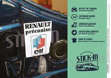 Autocollants Stickers Renault ELF Clio Williams 16S R21 R19 R5 R25R11 Engine Bay