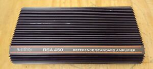 Infinity RSA 450 Subwoofer Amplifier Rare Old School