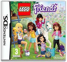 Lego Friends Game DS Nintendo NDS DS Lite DSi XL Brand New