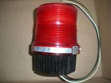 Federal Signal Fireball Strobe Beacon 120vac Red