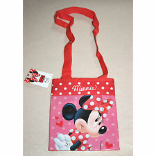 DISNEY sac bandoulière MINNIE rouge rose sac à mains  fille neuf