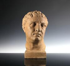 Lebensgrüße Terracotta Büste des römischen Kaisers Titus Imperator Roms Caesar