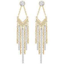 NWT SWAROVSKI VERSATILE Lyrebird Chandelier Pierced Earrings 5381229