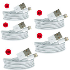 CABLES LIGHTNING USB CHARGEUR  POUR iPHONE 5/6/7/8X/XS/XMAX/XR/iPADAir/mini 1M-