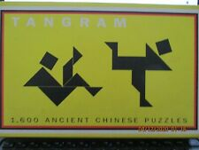 TANGRAM 1600 Ancient Chinese Puzzles w/ Book Barnes & Noble, Elffers & Schuyt