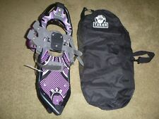 """Yukon Charlie's Icon Beta 825 8"""" x 25"""" Snowshoes With Carrying Case"""