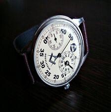 Regulateur Masonic men's watch caliber 3602