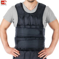 Weighted Vest 10kg,12kg,15kg, 20kg Sporteq Adjustable Running Weight Loss Jacket