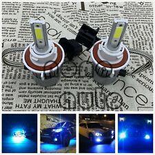NEW H13 9008 8000k Ice Blue 8000LM CREE LED Headlight Bulbs Kit High & Low Beam