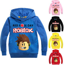 Jungen Mädchen ROBLOX RED NOSE DAY Kinder Freizeit Sweatshirt Baumwolle Hoodies