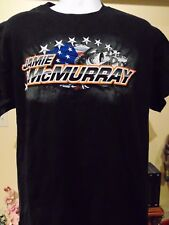 Jamie McMurry Bass Pro Shop NASCAR T- Shirt Large NWT