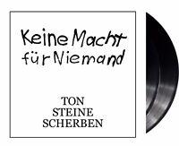 """Ton Steine Scherben """"keine macht für niemand"""" Vinyl 2LP NEU Re-Issue 2015"""