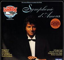 FRANZ LAMBERT symphonie d'amour 6.25500 AT german teldec 1982 LP PS EX+/EX