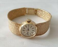 Stunning Ladies 9ct Gold Omega Watch