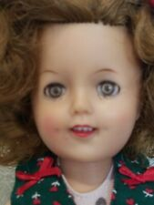 Vintage Ideal Shirley Temple doll ST-12  w/red & green dress polka dot swimsuit