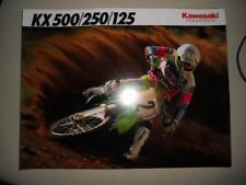 NOS Kawasaki Factory Brochure 1992 KX500 KX250 KX125 E4