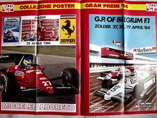 Poster 80X55 - FERRARI ALBORETO GP BELGIUM F1  [AS3] -96