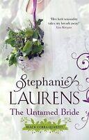 The Untamed Bride (Black Cobra Quartet), Stephanie Laurens, Very Good condition,