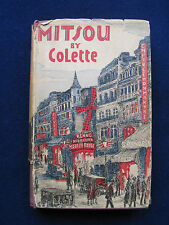 MITSOU by COLETTE with Biographical Essay on Colette by Janet Flanner