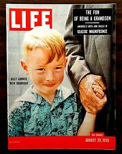 LIFE Magazine 1955 August 29 No Label BILLY CONNER IRISH REPUBLICAN ARMY KOREA