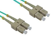 Gc901 - 1 Metro Sc-sc 50/125om3 de fibra óptica parche Cable de plomo Aqua