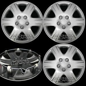 "4 New 2003-2016 Toyota Corolla 15"" Wheel Covers Full Rim Hub Caps w/ STEEL CLIPS"
