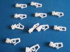 SILENT GLISS per adattarsi Volkswagon T25 e altri per tende confezioni da 50 Ganci N. 17