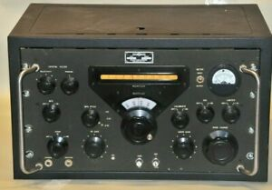 Collins 51J-4 Communications Receiver In Cabinet Clean & Working