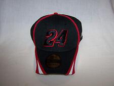 Nascar New Era 39Thirty Jeff Gordon Cap 24 Signature Small-Medium Black&Red New