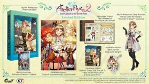Atelier Ryza 2 Lost Legends & the Secret Fairy Limited Edition Switch In Hand