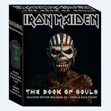 IRON MAIDEN - Book of Souls 2CD + XL T-Shirt RARE Box Set (Sealed Brand New set)