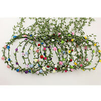 Wedding Festival Floral  Flower decorate  Bride Garland Wreath Hair Headband
