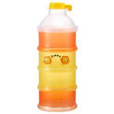 Simba Orange BPA Free Milk Powder Formula Storage Dispenser Container Bottle
