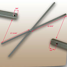 """Ozark Trail Coleman 12' x 12' Canopy SIDE TRUSS Bars 36"""" GRAY Replacement Parts"""