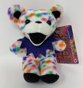 NEW Grateful Dead PEGGY-O 1998 Liquid Blue Beanbag Plush Stuffed Animal Bear